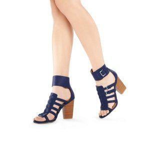 JustFab Makenna Heel Shoe Sandal